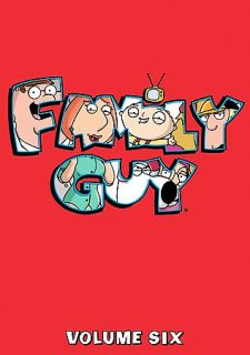 Family Guy   Vol. 6 DVD, 2008, 3 Disc Set, Checkpoint Pan and Scan
