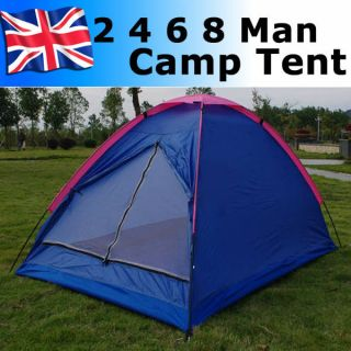 Man 6 Man 8 Man Outdoor Camping Dome Tent Person Berth Family Festival