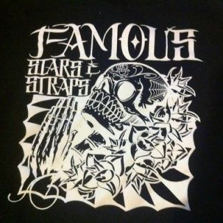 Famous Stars And Straps Day Of The Dead Hoodie Size L FSAS Rare