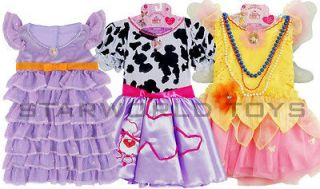 Fancy Nancy Lot of 3 Dresses Posh Party, Poodle and Bonjour Butterfly