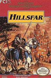 Advanced Dungeons Dragons Hillsfar Nintendo, 1993
