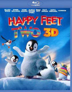 Happy Feet Two Blu ray DVD, 2012, 3 Disc Set, Includes Digital Copy