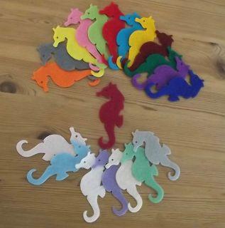 Felt Die Cuts   Sea Horse   Baby   Kids   Clothes   Topper   Applique
