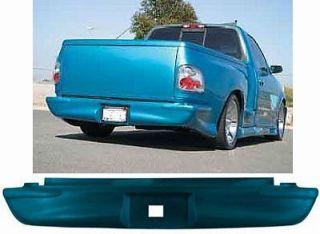F150 Flareside Lightning Street Scene Urethane Rear Bumper Roll Pan