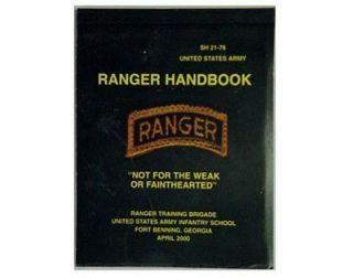 US ARMY RANGERS FIELD GUIDE MANUAL INSTRUCTION BOOK NEW