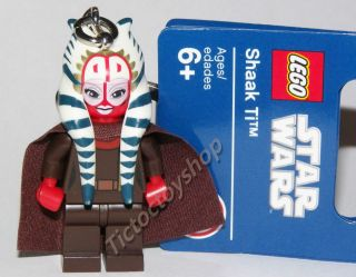 LEGO STAR WARS SHAAK TI MINI FIGURE KEYRING KEYCHAIN BRAND NEW