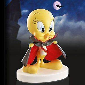 Lenox Looney Tunes Count TWEETY Halloween Figurine w/COA New in box