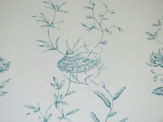 BRUNSCHWIG & FILS SHELLS AND BUTTERFLIES WALLPAPER  $45 A ROLL