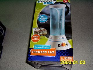 NEW Discovery Kids Extreme Weather Tornado Lab with sounds and DVD