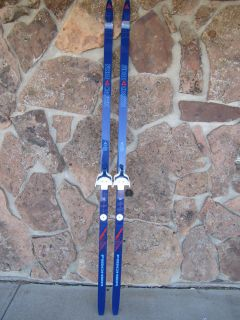 Fischer Fibre Crown Cross Country Skis w Pinso 3 Pin Bindings 200cm