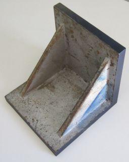 UNIVERSAL RIGHT ANGLE MACHINE PLATE IRON FIXTURE 8 X 8 X 8