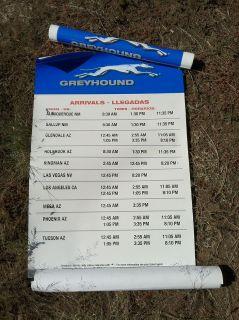 Greyhound Bus Schedule 2007 Flagstaff AZ