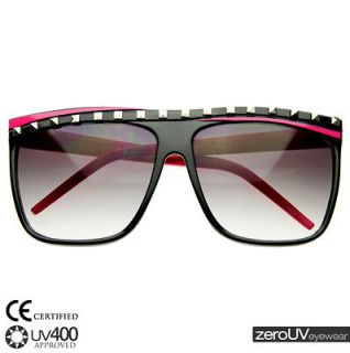 New hot pink super flat top party rock clubbing stunner shades