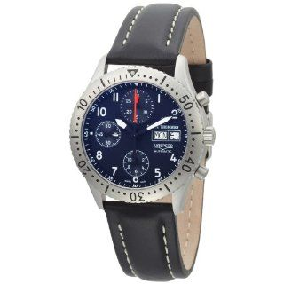 Revue Thommen Mens 16007.6135 Airspeed Classic Automatic Blue Dial