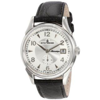 Revue Thommen Mens 10011.2532 Classic Automatic Silver Watch Watches