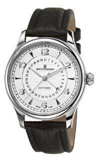 Revue Thommen Mens 10012.2532 Date pointer Mens Black Leather Strap