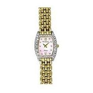 Pulsar Ladies Watch on Yellow Gold Plate Bracelet Watches