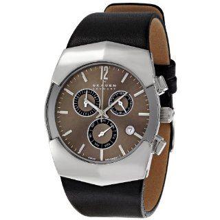 Skagen Mens SK581XLSLM Black Label Black Dial Watch Watches