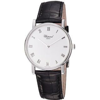 5001 Classic Slim Black Leather Strap Watch Watches