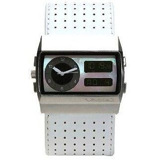 Monte Carlo White/Silver/White Vestal Watch Watches