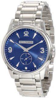 Revue Thommen Mens 15005.3136 Slimline Manual Blue Watch Watches