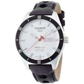Tissot Mens T0444302603100 T Sport PRS 516 Silver Day Date Dial Watch