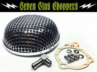 MESH BUG EYE AIR CLEANER FILTER FOR KEIHIN CV CARBS BOBBER CHOPPER