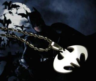 DC Stainless Steel chain Pendant Necklace Batman BATXL