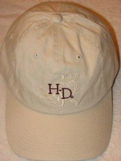 HARLEY DAVIDSON MOTORCYCLES VINTAGE EMBROIDERED HAT CAP NEW