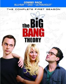 Big Bang Theory   The Complete First Season Blu ray Disc, 2012, 5 Disc