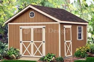 storage shed plans in Yard, Garden & Outdoor Living