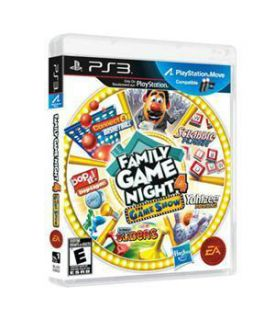 Hasbro Family Game Night 4 The Game Show Sony Playstation 3, 2011