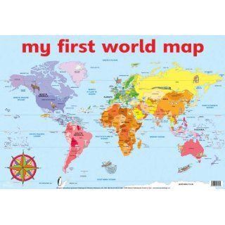 My First World Map Wall Chart (Wall Charts)