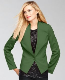 Style&co. Jacket, Lace Blazer   Womens Jackets & Blazerss