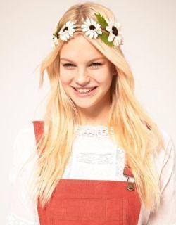 ASOS  Cinta para el pelo con flores de yute de ASOS en ASOS