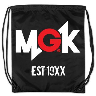 Machine Gun Kelly Lace Up Cinch Bag  Shop Ticketmaster Merchandise