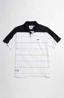 Lacoste Superdry Stripe Tennis Polo (Big Boys)
