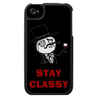 Stay Classy Internet Meme Rage Face Iphone Cases from Zazzle
