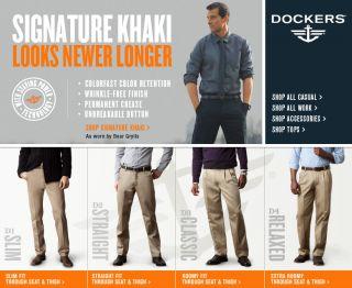 Dockers Mens Clothing   Shop Dockers Dress Pants, Khakis & Pants