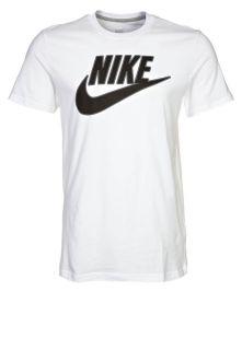 Nike Sportswear FUTURA TEE   T Shirt   white/grey/black   Zalando.de