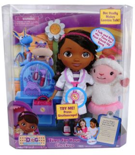 Disney Doc McStuffins Time For Your Check Up Doll   Just Play   Toys
