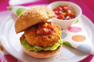 Sweet Potato And Vegetable Burgers   Childrens Recipes   Tesco Real