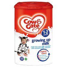 Cow & Gate 1 2 Years Growing Up Milk Powder 900G   Groceries   Tesco
