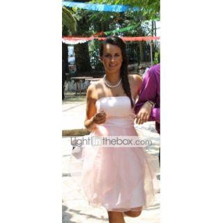 ILINCA   Vestido de Fiesta de boda o de Dama de honor de Organza y