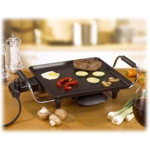 Plaque électrique de cuisson multifonction   Plancha 28 x 28 cm