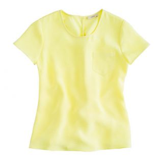 Collection silk crepe tee   blouses   Womens shirts & tops   J.Crew