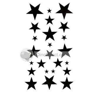 Wholesale Muimes Bold Solid Star Sticker Bracelet Sticker Waterproof
