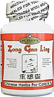 Dr. Shens Zong Gan Ling Severe Cold and Flu Relief    750 mg   90