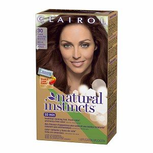 Buy Clairol Natural Instincts Haircolor, Rosewood Dark Auburn Brown 30