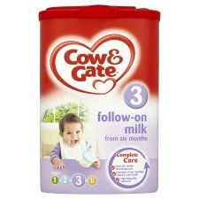 Cow And Gate 6Mth+ Follow On Milk Powder 900G   Groceries   Tesco